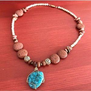 Handmade Brooklyn Boho Necklace